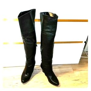 Adrienne Vittadini Almost Thigh-High Boots